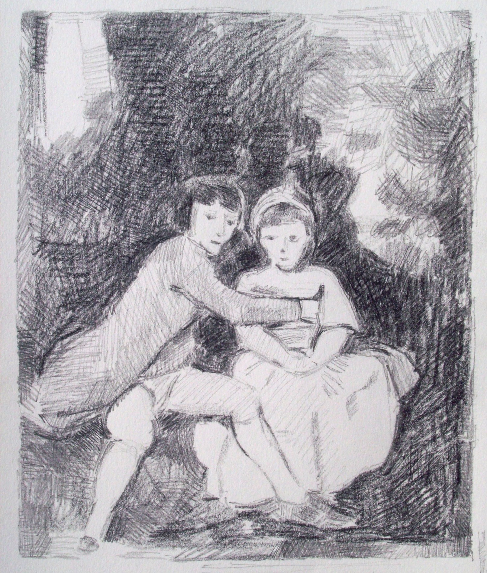 John and Therese Parker (after Reynolds)
