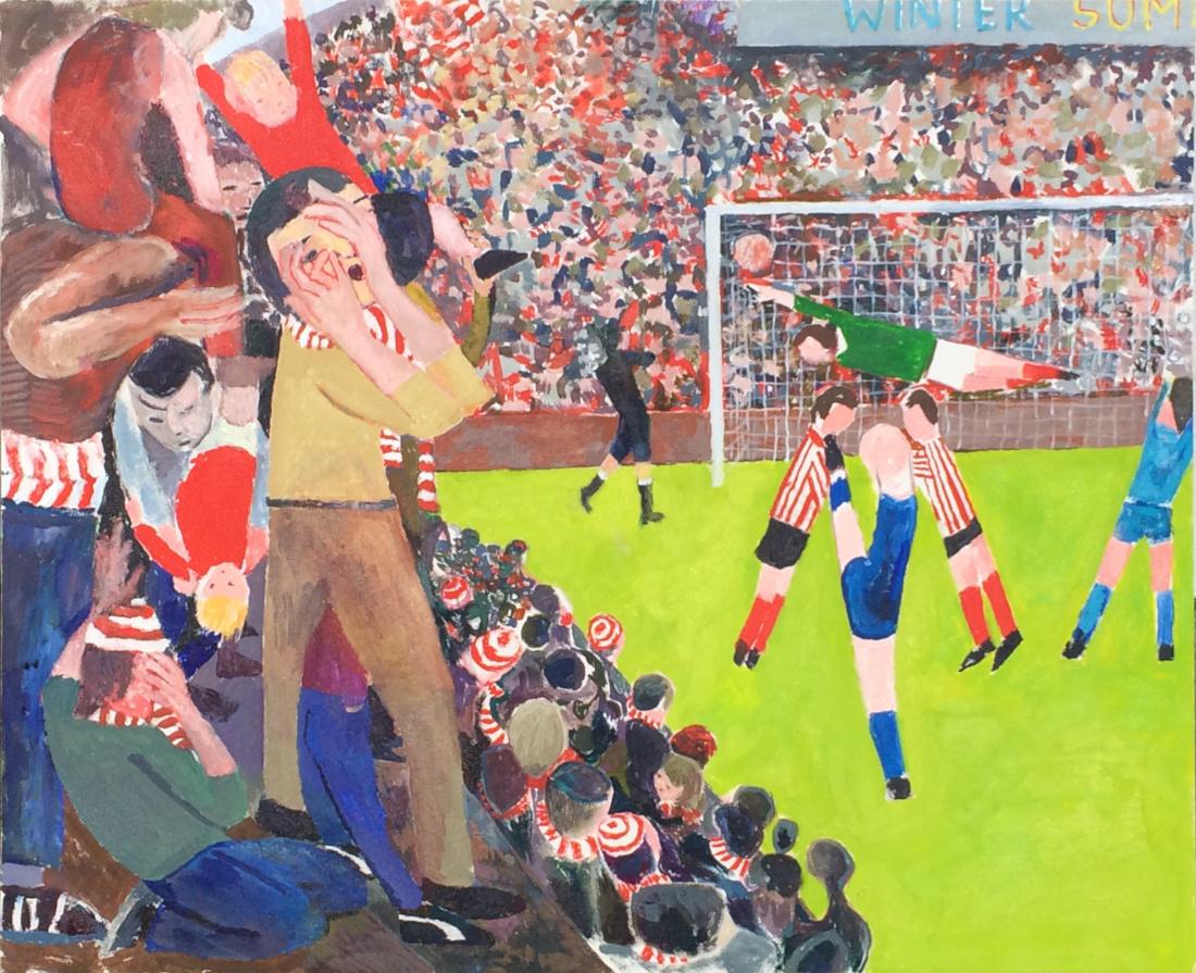Bobby Oh Bobby oil on canvas 80 x 100 cms